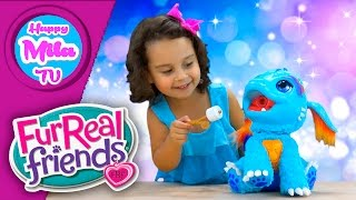 Video Torch My Blazin' Dragon Breathes Flame-Colored Mist by Furreal Friends unboxing | Happymilatv #233 download MP3, 3GP, MP4, WEBM, AVI, FLV November 2017