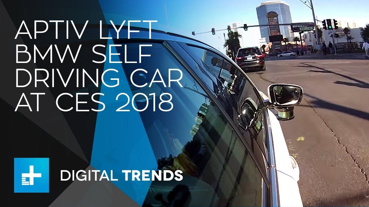 Aptiv Lyft BMW Self Driving Car at CES 2018