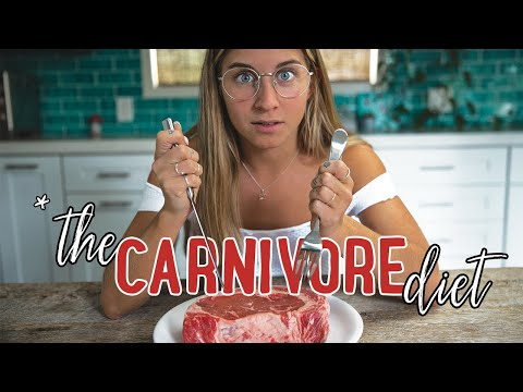 I Tried The CARNIVORE DIET For 30 Days [ex-vegan]