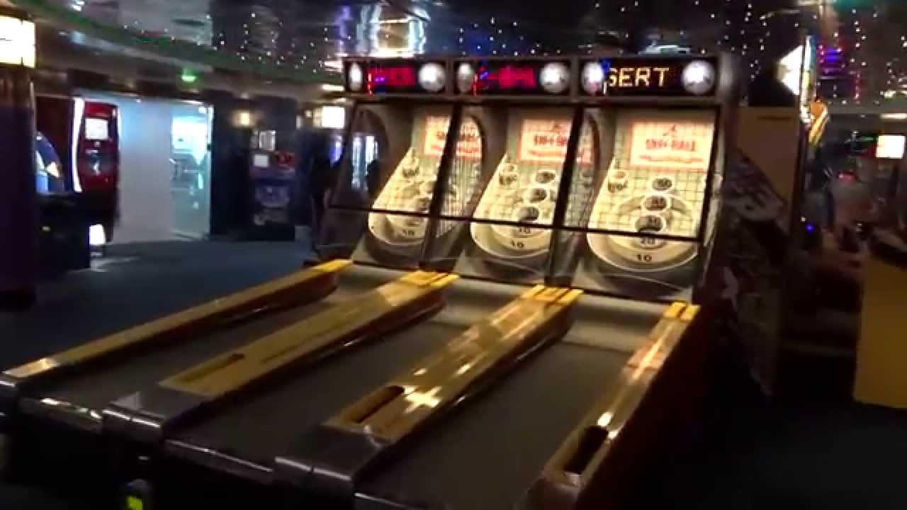 Cruise Ship Arcade on Freedom of the Seas  YouTube