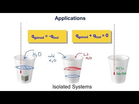 Heat Capacity, Specific Heat, Calorimetry and Heats of Reaction