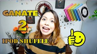 SORTEO INTERNACIONAL Ganate 2 Ipod Suffle - Ruthi San ♡