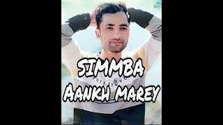SIMMBA- Aankh Marey Dance Video | Mayank Dance Choreography | Ranveer Singh,Sara Ali khan