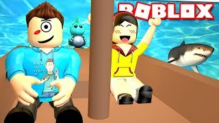 LASTIC UND ICH GO ON SHARK DATE IN ROBLOX! | MicroGuardian