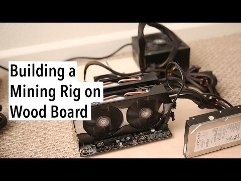 How to Build a Litecoin Mining Rig on Wood Board