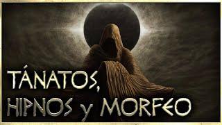 TÁNATOS, HIPNOS y MORFEO, hijos de la NOCHE   MITOLOGÍA GRIEGA   Sello Arcano