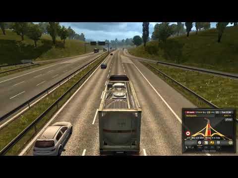 Euro Truck Simulator 2 #05 Sudar,Kasnim i jos sam prespavao