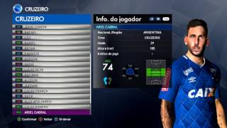PES 2017 -BMPES 5.02 - TODAS FACES CRUZEIRO - PC -