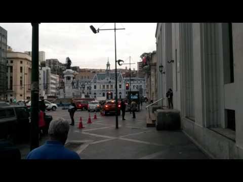 Replica Terremoto 7.1 Valparaíso - Chile / Earthquake 24/04/2017