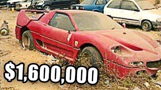 10 Most Amazing Abandoned Vehicles