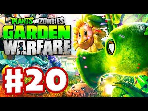Plants vs. Zombies: Garden Warfare - Gameplay Walkthrough Part 20 - Gardens & Graveyards (Xbox One)