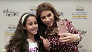 Noha Nabil meet-and-greet at The Dubai Mall - DSS 2017- Visit Dubai