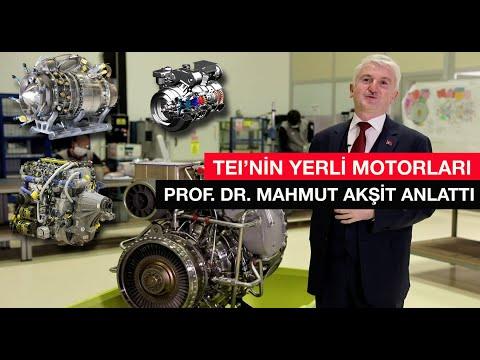 Parça imalatından yerli motora TEI... Prof. Dr. Mahmut Akşit Tolga Özbek'e anlattı #tei #yerlimotor