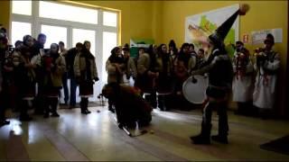 Colinde şi urări de la Vorona la Primăria Botoşani