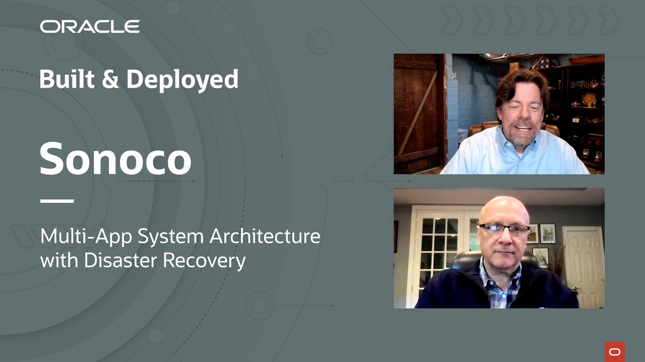 Built & Deployed featuring Brett Barnhart ofSonoco and their multi-app system architecture