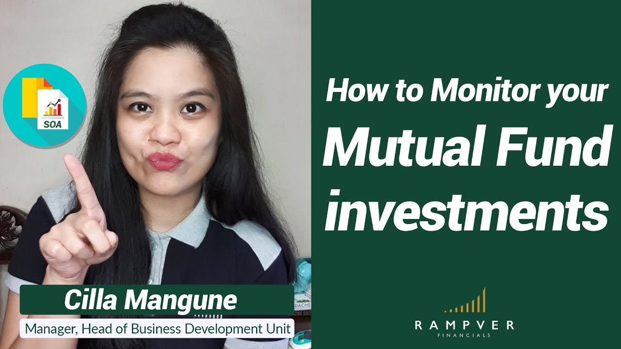 How to Monitor your Mutual Fund Investments - Cilla Mangune, Rampver Financials