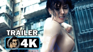 Repeat youtube video GHOST IN THE SHELL Official Trailer #2 + Super Bowl Spot (4K ULTRA HD) Scarlett Johansson Movie 2017