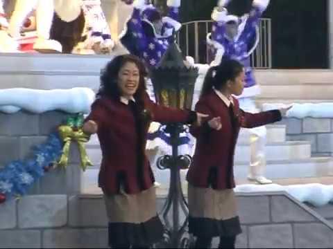 【2005】ミッキーのマジカルクリスマスツリー 手話パフォーマー(Mickey's Magical Christmas Tree)Sign language performance