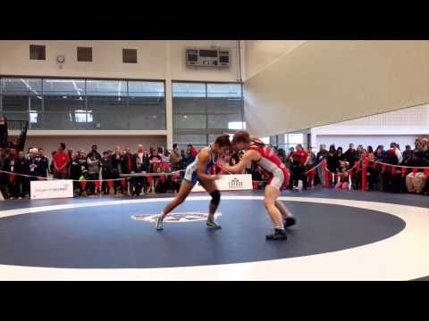 2015 Senior National Championships: 63 kg Haley Heffel vs. Braxton Papadopoulos