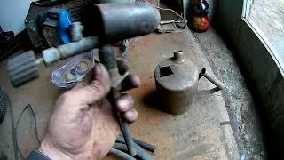 как сделать газовую горелку из паяльной лампы своими руками
