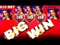 Lock It Link Slot Machine  BIG WIN w/$10 Bet | AWESOME SESSION | Gold Bonanza Bonus Won
