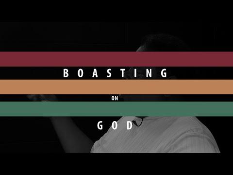 Boasting on God - Monroe Trotter
