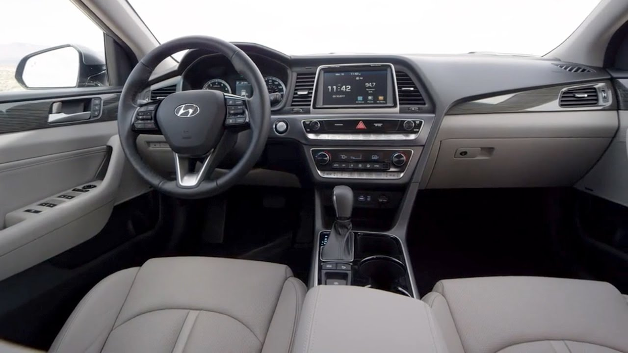 2018 hyundai sonata interior youtube - 2015 hyundai sonata interior pictures ...