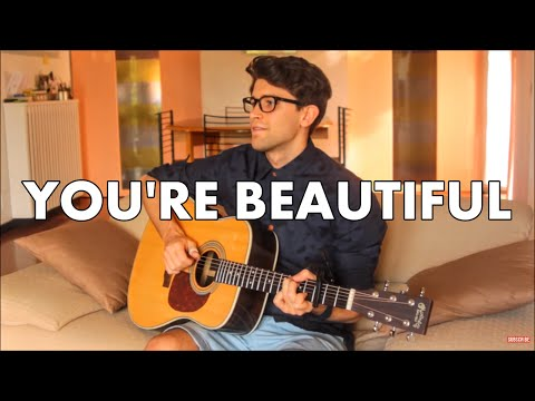 You're Beautiful - James Blunt (Fingerstyle guitar cover) [+ TABS]
