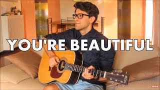 You're Beautiful - James Blunt (Fingerstyle guitar cover) [+ FREE TABs]