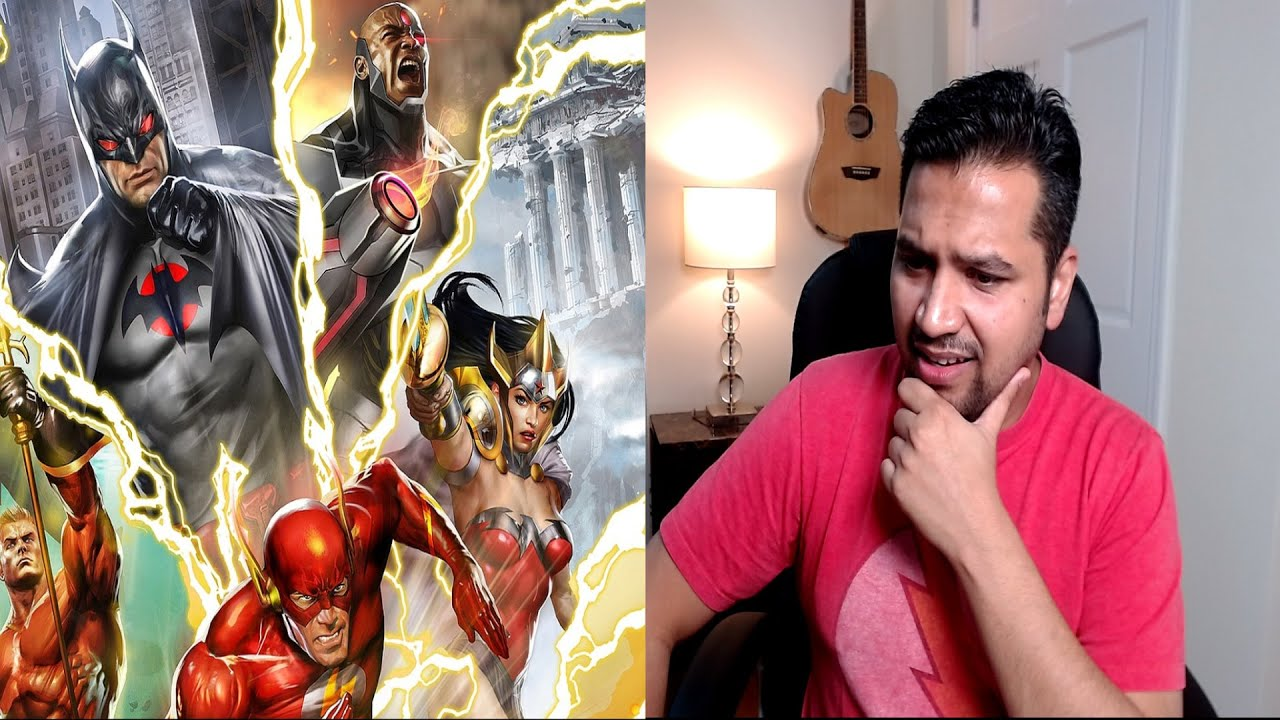 Download First Time Watching - Justice League Flashpoint Paradox Reaction & Commentary