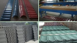 Colorful Stone Coated Roofing Tiles From A Famous Manufacturer Residental Metal Roofing System