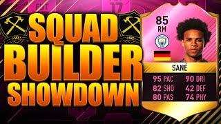 epic squad builder showdown futties sane 85 fifa 17 ultimate team