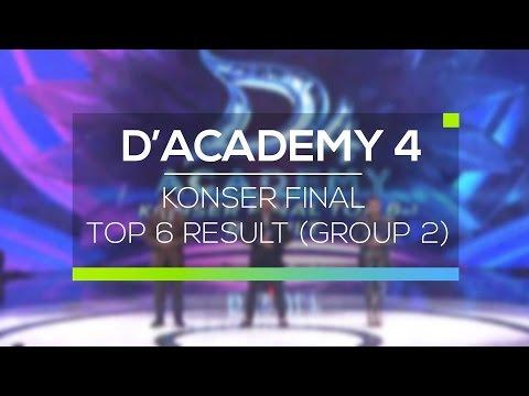Highlight D'Academy 4 - Konser Final Top 6 Result (Group 2)