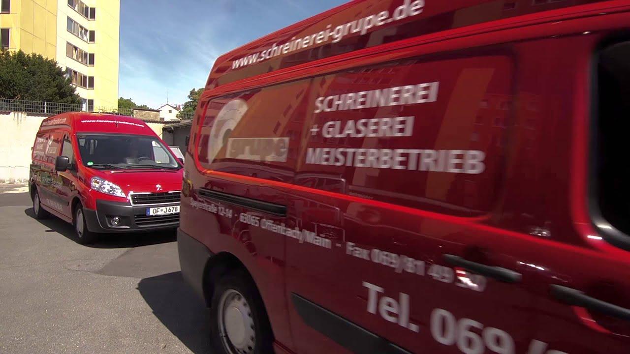 Schreiner Offenbach glaserei schreinerei grupe offenbach frankfurt imagefilm