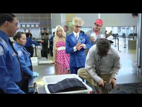 TSA Security Video featuring Murray Sawchuck, Chloe Crawford and Douglas 'Lefty' Leferovich