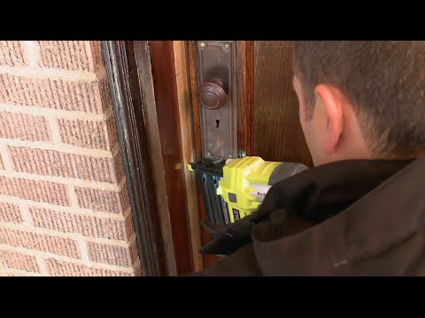 How To: Weatherstripping Your Front Door