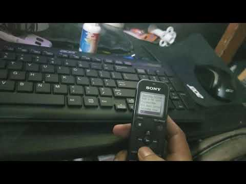 How To Make Sony Voice Recorder Records Like Zoom H1