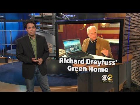 Richard Dreyfuss' Green Home (Mar 11, 2009)