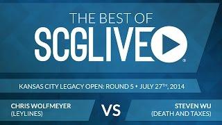 Best of SCGLive 2014 - Chris Wolfmeyer Vs. Steven Wu [Magic: the Gathering]