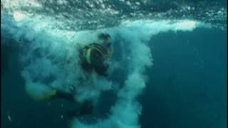 Scuba Diving in a Tsunami