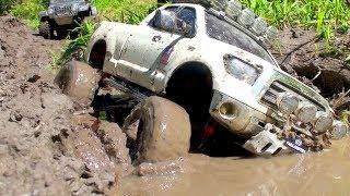 RC Cars in Mud | Tamiya Tundra, Axial Rubicon, Hummer H2, Defender 90, RC4WD Subzero, HG 401 Part 2