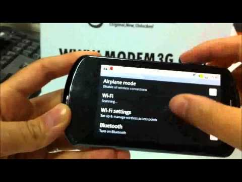 Huawei U8800 IDEOS X5 Android Hands on