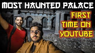 A Night in Musoorie's Haunted Radha Bhawan Palace|Haunt by King's Spirit|India's Top Horror Vloggers
