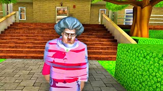 Scary Teacher 3D -  NEW UPDATE  - WRAP TRAP - New Levels Unlocked Gameplay ( android, ios )