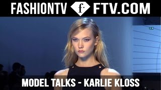 Karlie Kloss Model Talks FW 15/16 | FashionTV
