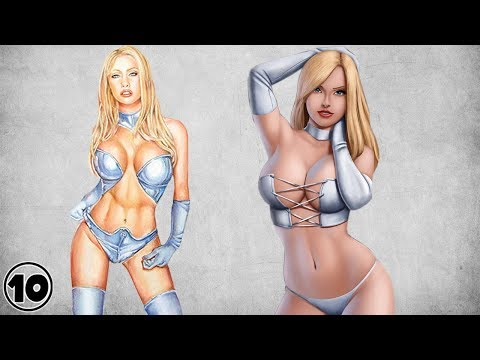 Top 10 Emma Frost Surprising Facts