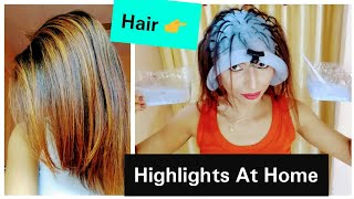 How to Highlight Hair At Home | Hair Highlighting at Home | Under 140 | Streax Ultra Highlights Demo