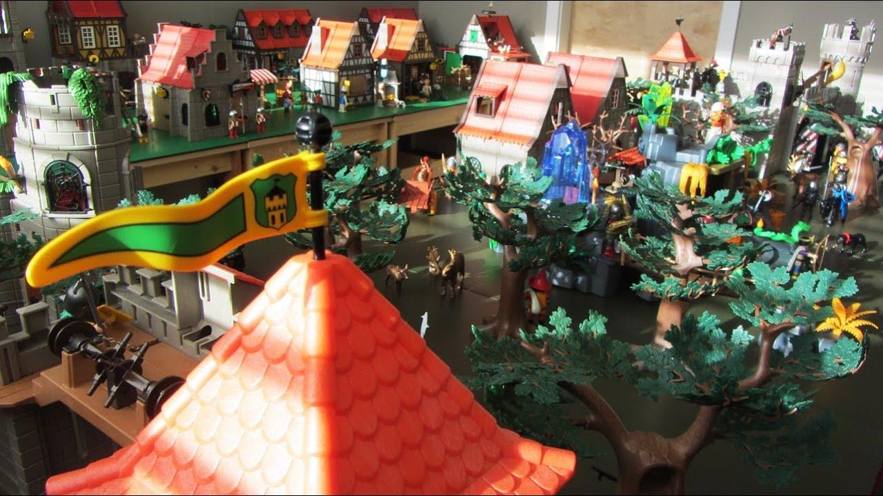 Playmobil Knights Medieval Village Amp Farm Play World