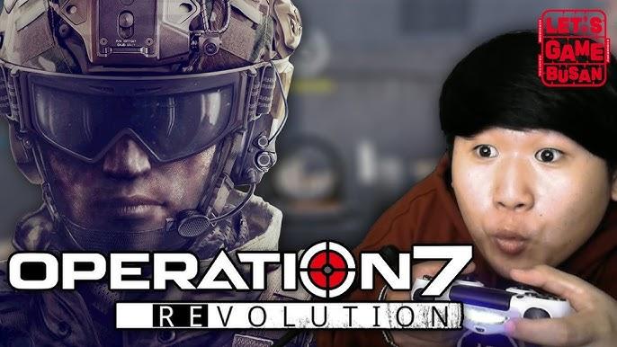 후추가 레볼루션을 한다는것? 그게 바로 레볼루션 [ 오퍼레이션 7 레볼루션 :  Operation 7 Revolution ] Let's Game Busan 렛츠게임부산 PS4