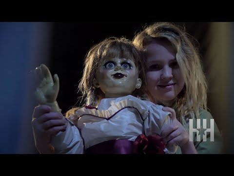 Cast Of 'Annabelle: Creation' Freaked Out On Set